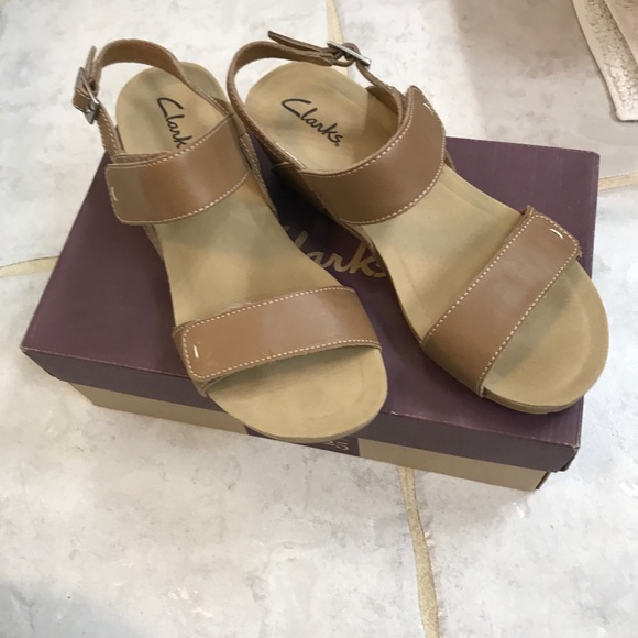 Clarks Shoes - Worn once! Clark's Wedges